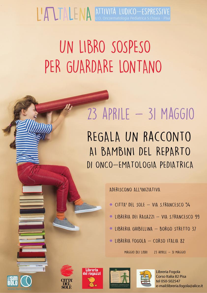 un libro sospeso per guardare lontano:regala un racconto ai ... - Libreria Per Ragazzi Pisa
